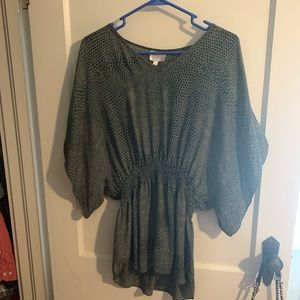 Parker silk top size small